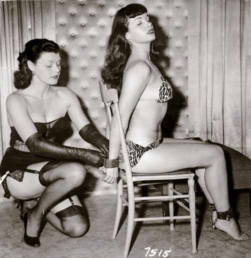 bondage bettie page and