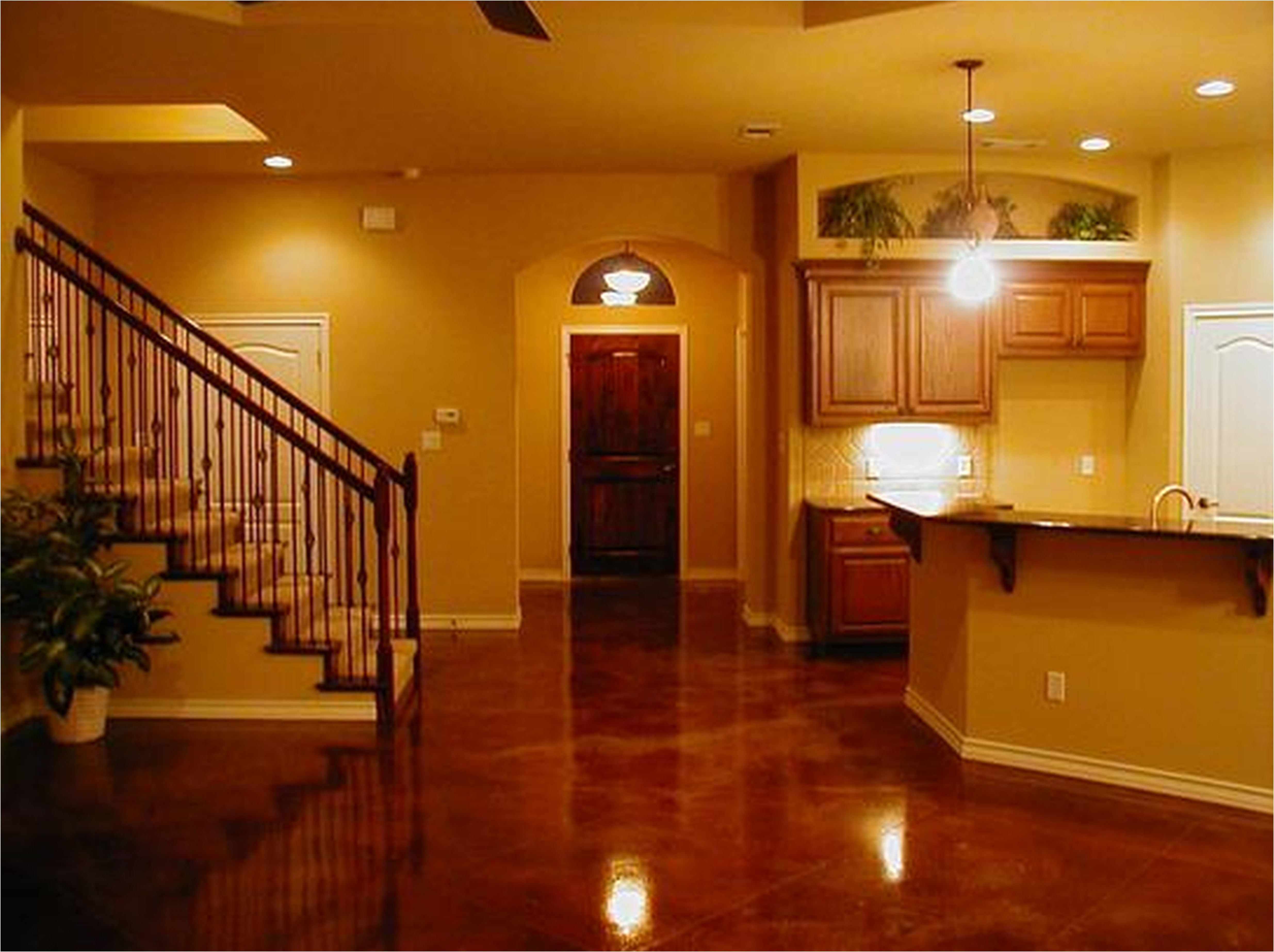 Concrete basement floor ideas stained scored floor site from cost of