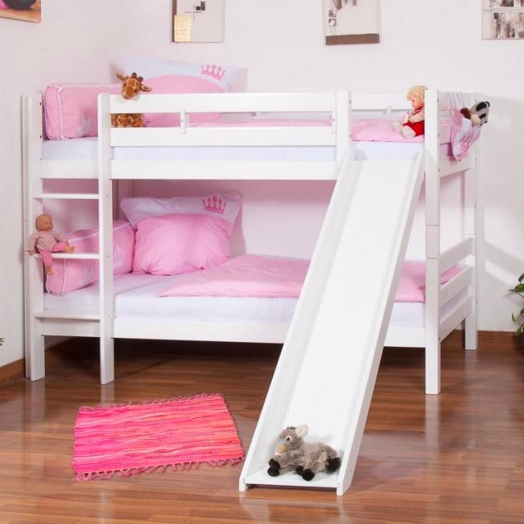 Our Most Popular Bed Right Now Twin Over Twin Bunk Bed With Slide