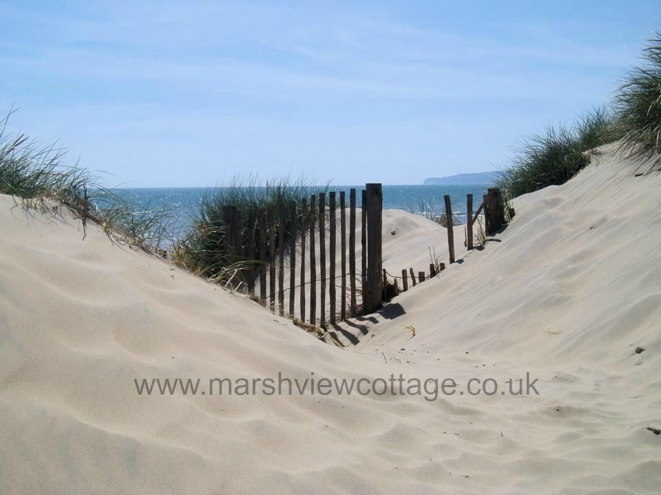 The only sand dunes in East Sussex are just a short walk away from our holiday cottage