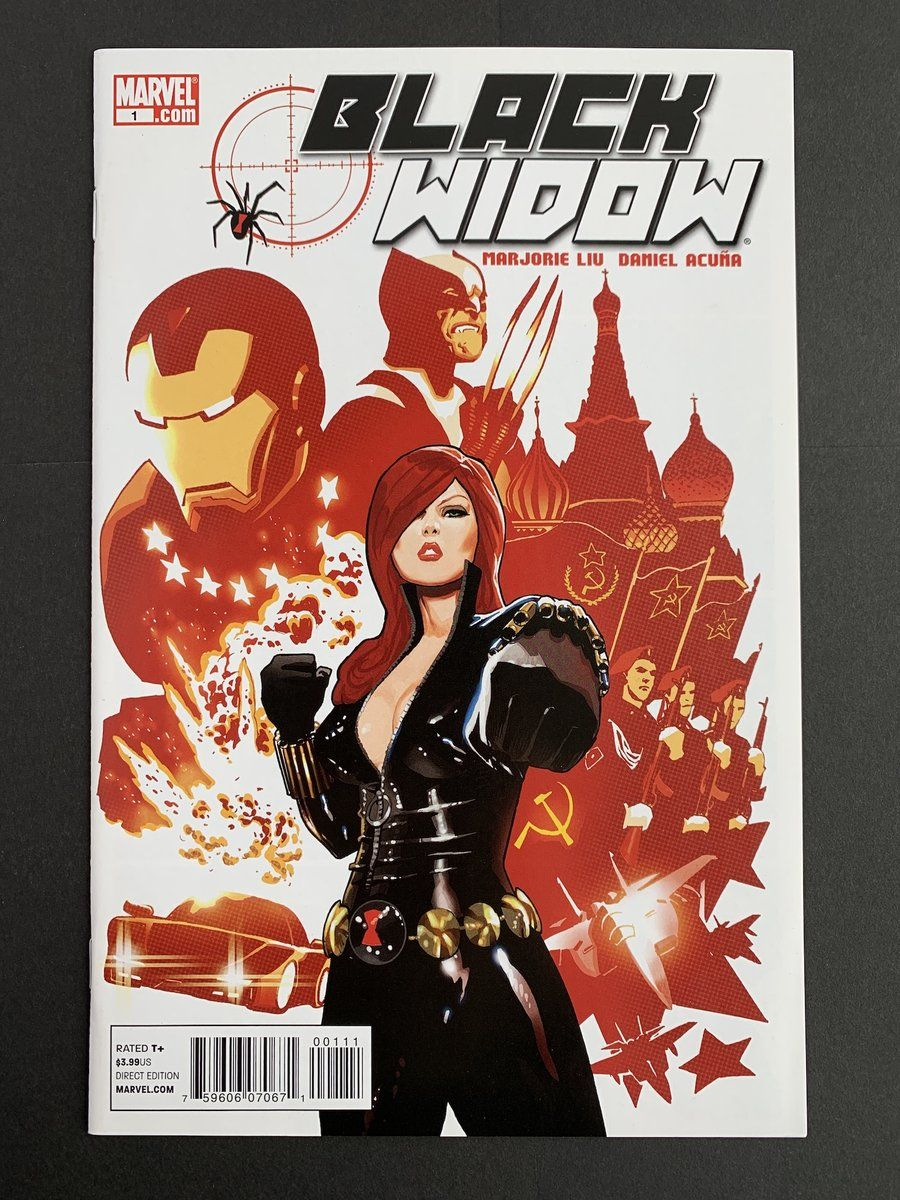 Black Widow (2010) 1 in Near Mint (NM) condition