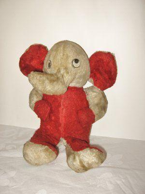 Adoreable Vintage Plush Elephant @ Vintage Touch SOLD