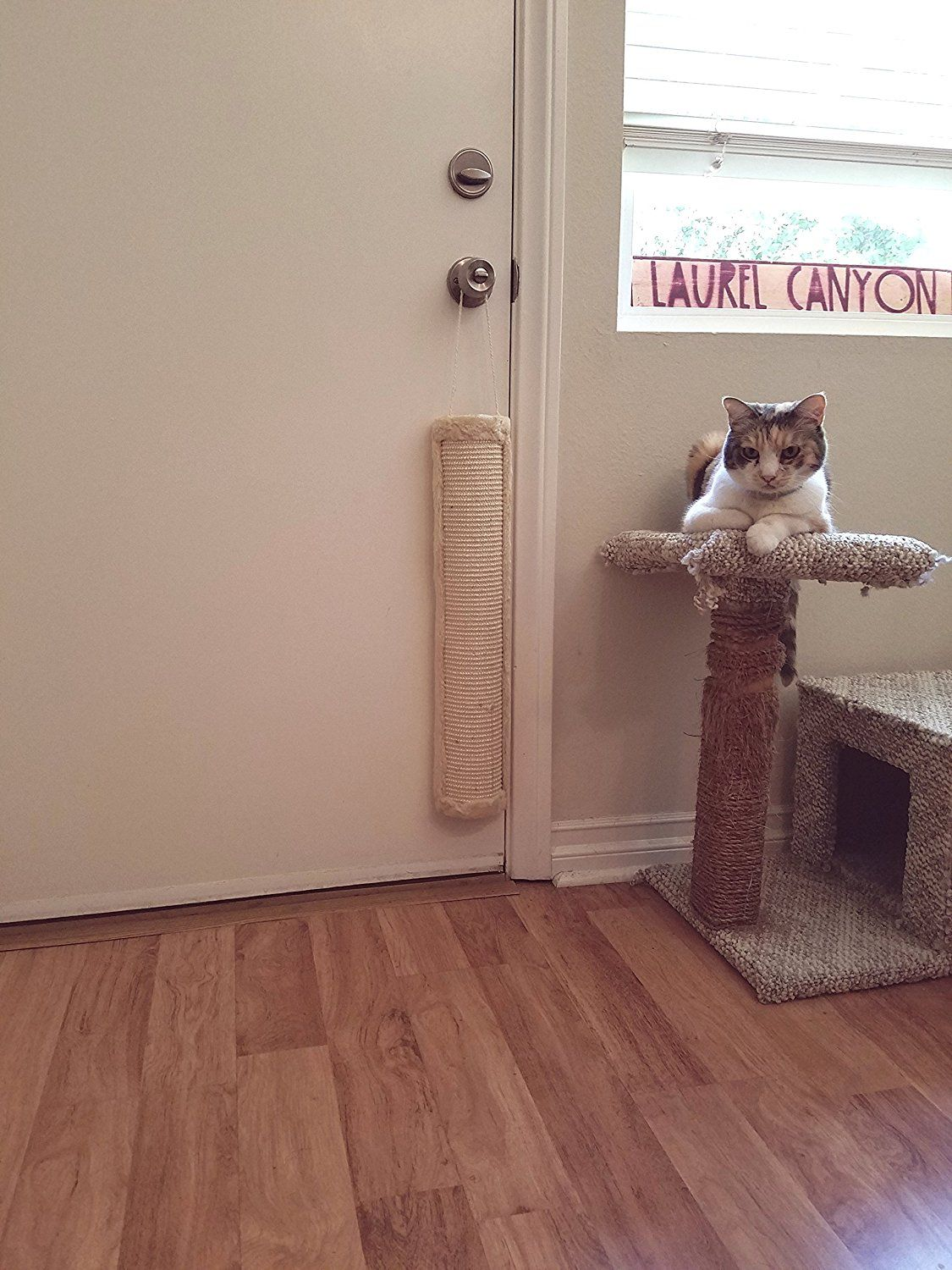 Extra Tall Cat Scratching Post Hanging Cat Scratcher
