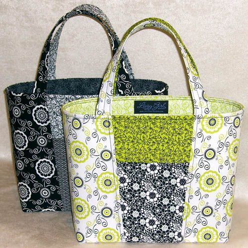 Lazy Designs Claire Handbag Patchwork Bags Quilted Patterns Free Tote Bag