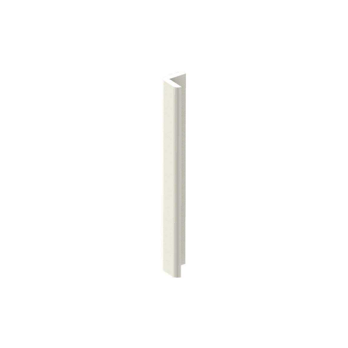 Cornière De Toiture Pvc Cellulaire 25x25 Mm Blanc Pvc In