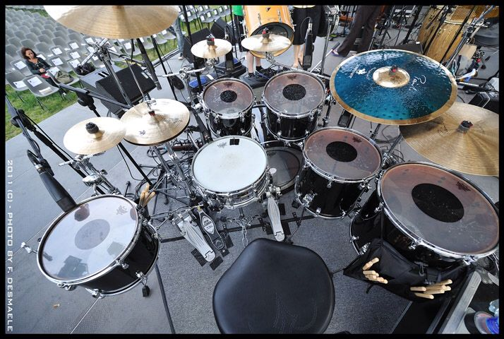 Stewart Copeland's current kit