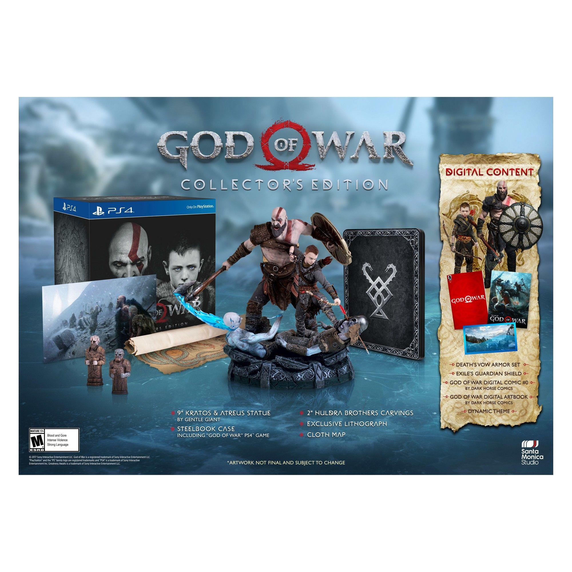 Ps4 Video Games God Of War God Of War Playstation 4 Playstation