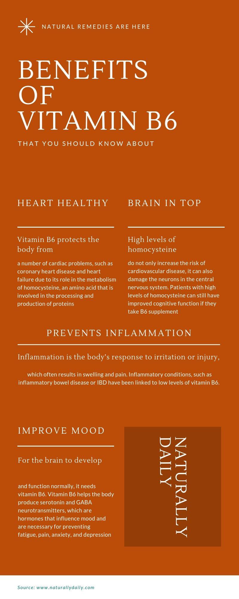 Benefits Of Vitamin B6 Vitamins B6 Vitamin Benefits Vitamin B6