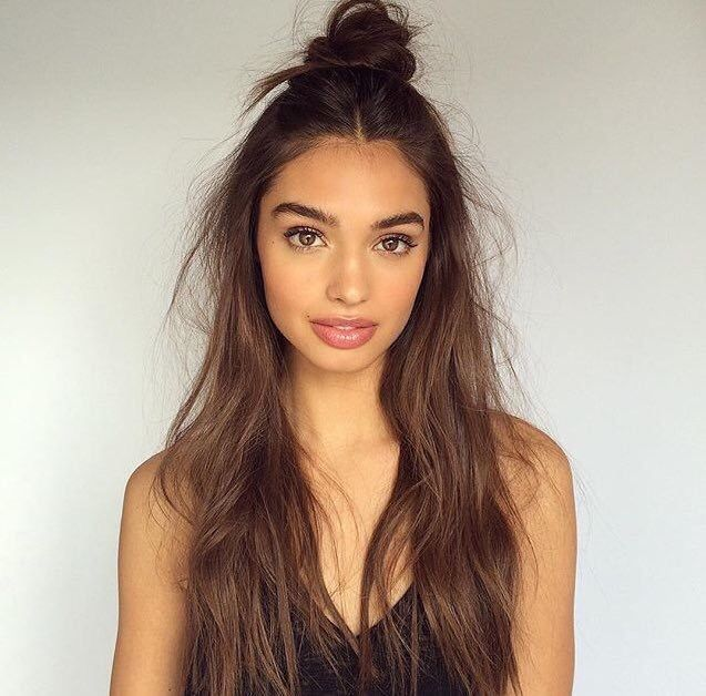 Half Bun Style Is Getting More And Popular Among Women So In This Post We Will Show You Trendy Hairstyles For Ladies That Love