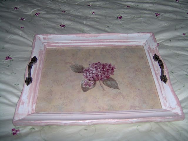 How To Make A Picture Frame Serving Tray Out Of An Old Unwanted