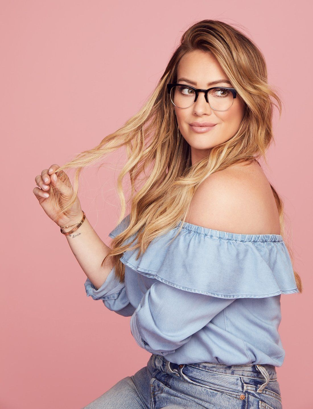 Hilary Duff Designed Her Own Glasses Collection And Named Them All ...
