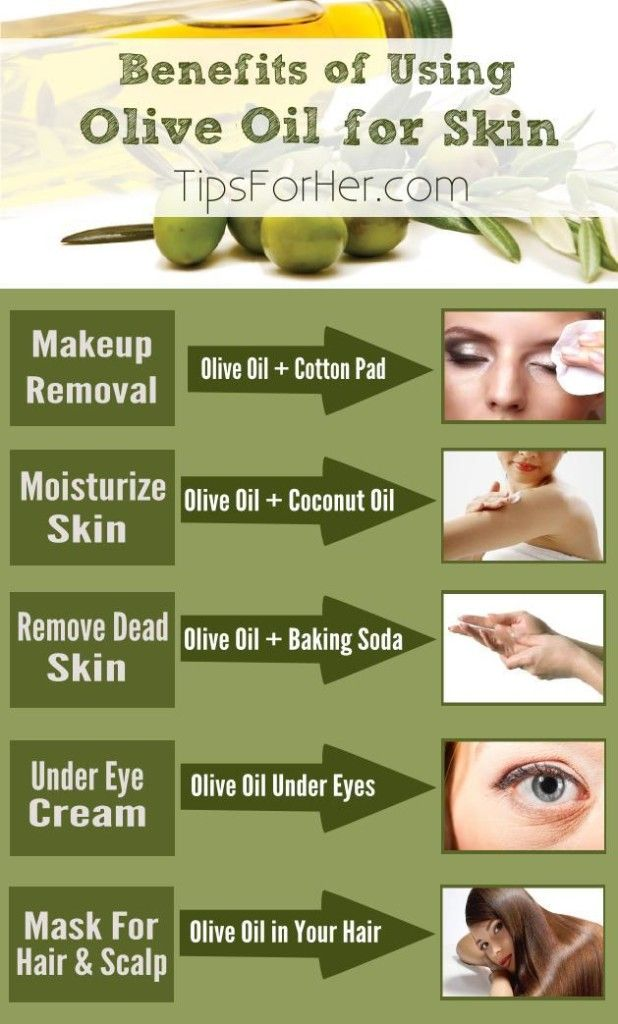 olive oil facial hair