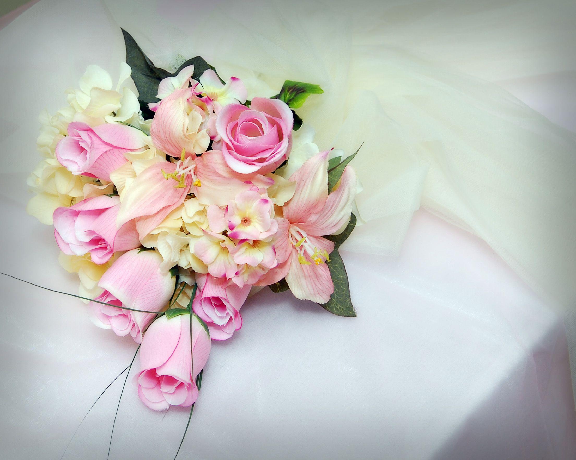 #beautiful #bouquet #custom #pink #white #arkansas #southern #weddings