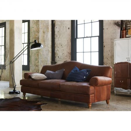 Furniture. Hastings 3 Seater Leather Sofa   Domayne Online Store   For the