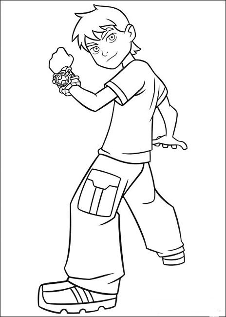 - Ben Ten Coloring Pages Ben 10, Coloring For Kids, Coloring Pages For Boys