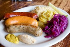 Kuby S Sausage House Dallas Tx Restaurants D Magazine Sausage Food Specialty Foods
