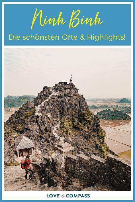 Ninh Binh in Vietnam - Sehenswürdigkeiten der trockenen Halong Bucht #favoriteplaces