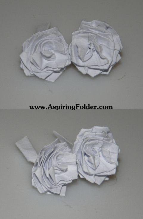 Simple Origami Rose Simple Origami Origami And Crafty