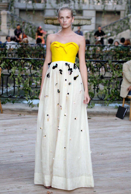 vestido de novia jess del pozo amarillo