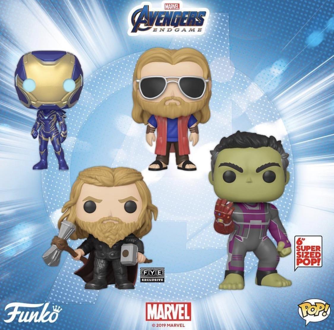 Avengers Endgame Funko Pop Vingadores Funko Pops Marvel Universe