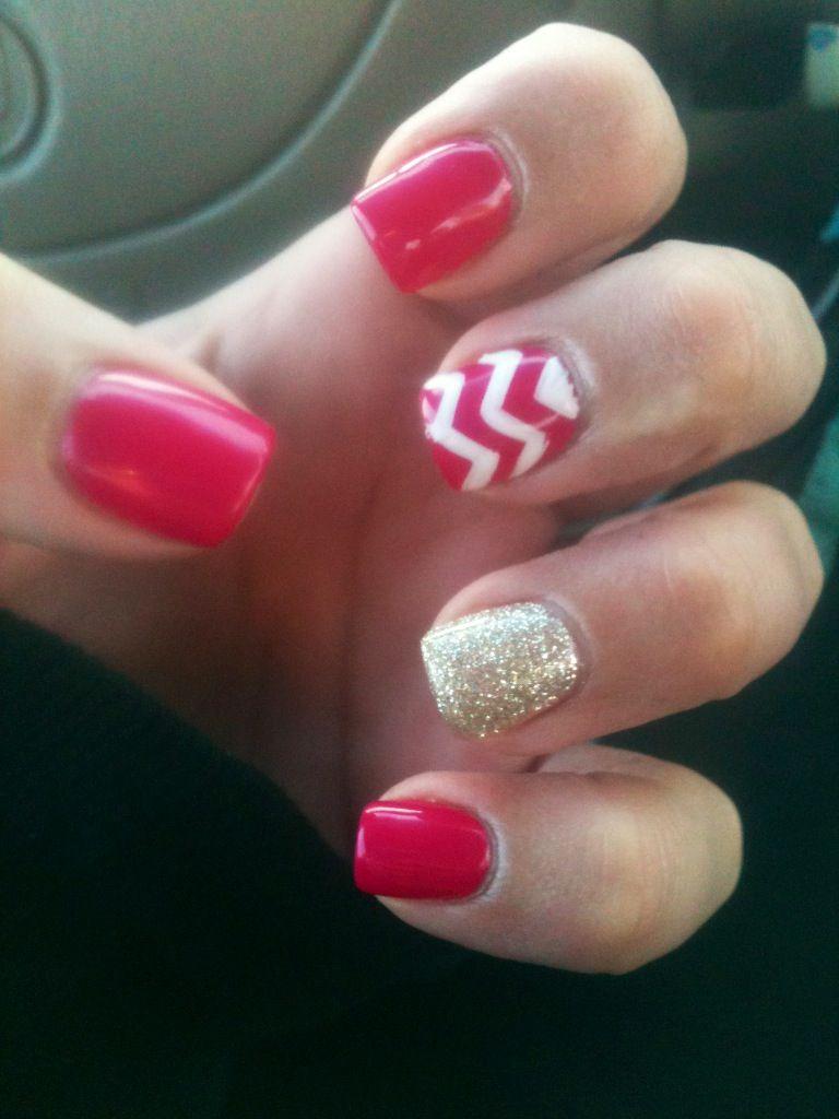 Valentine nails 2014 <3