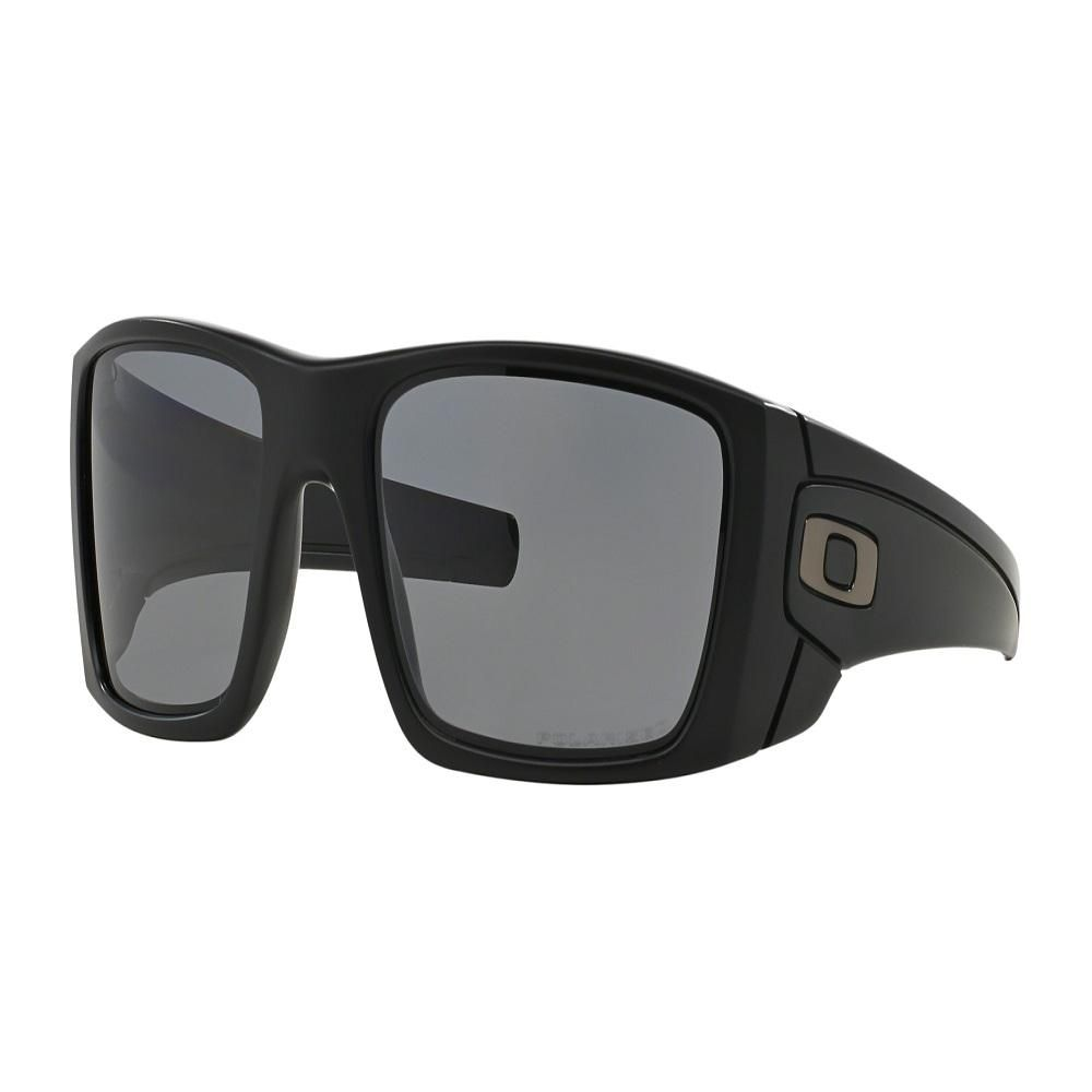 ae306bcef8c Oakley Fuel Cell Mens Sunglasses Matte Black Frame With Grey Polarized Lens