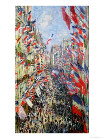 Monet: The Rue Montorgueil, Paris, Celebration of June 30, 1878