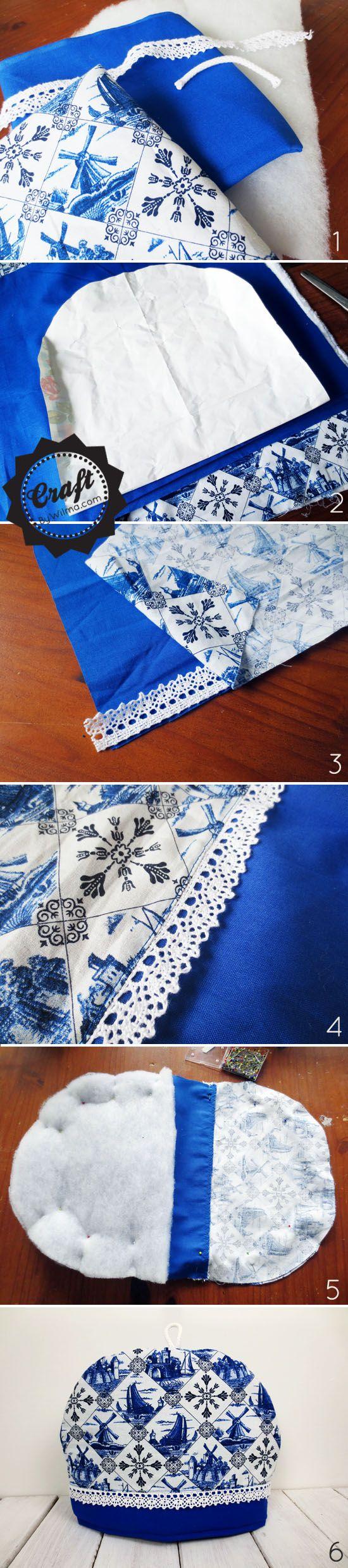 DIY - How to make a simple tea cozy #tea #diy #cozy | sewing ...