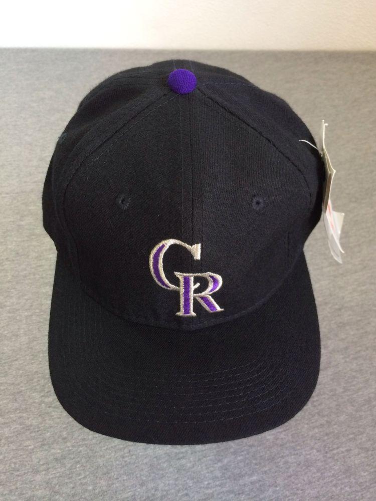 NEW COLORADO ROCKIES Hat 1993 Vtg WOOL Sports Specialties MLB PRO Fitted 7  1 4  SportsSpecialties  BaseballCap c2f1bdb2eed