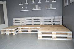 Paletten Sofa unser kollege hat das experiment gewagt und ein paletten sofa