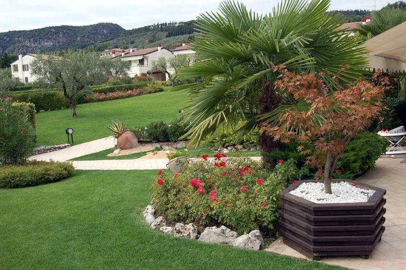 Aiuole giardino giardino pinterest gardens for Decorazioni giardino aiuole