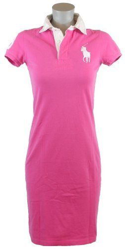Ralph Lauren Sport Womens Big Pony Polo Shirt Dress $109.99 www.your-online-