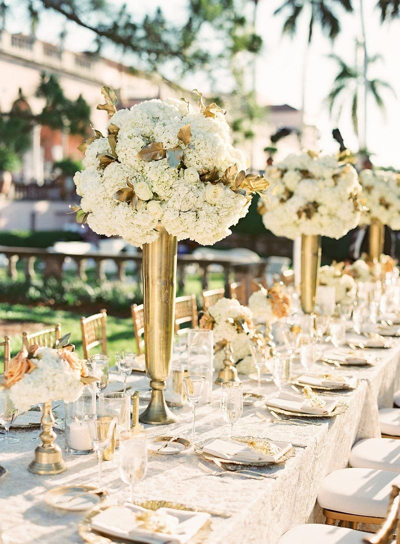 Glamorous Gold Outdoor Wedding At The Ringling Museum In Sarasota