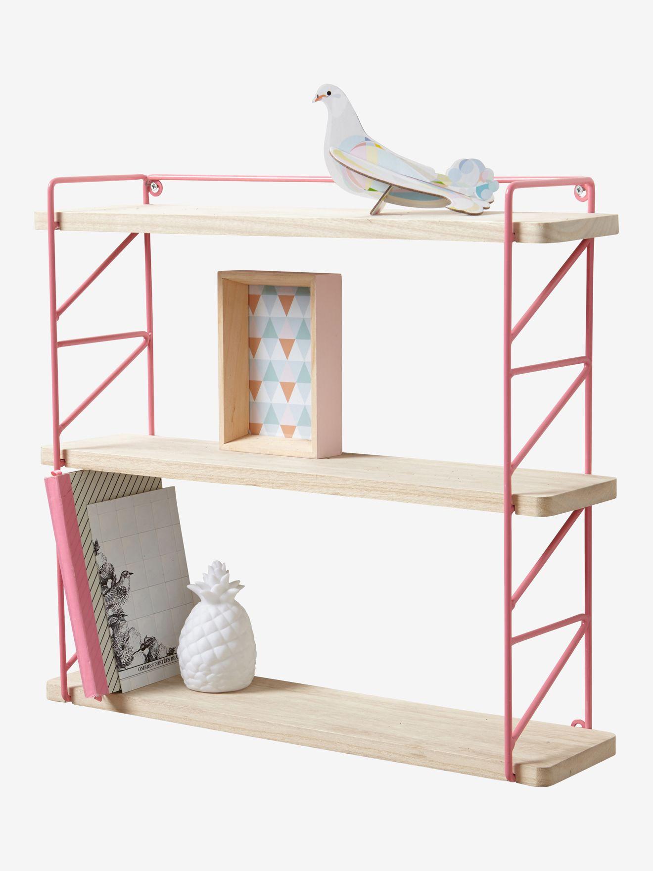 Vertbaudet Wandregal Fur Kinderzimmer In Multicolor Mittelrose