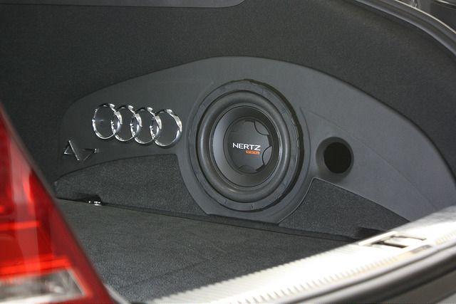 Audi A7 Sidepocket Enclosure - Car Audio | DiyMobileAudio com | Car