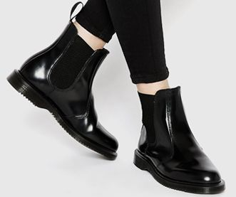 competitive price eae83 7efb9 Chelsea-Boots by Dr. Martens | Women Fashion | Schwarze ...