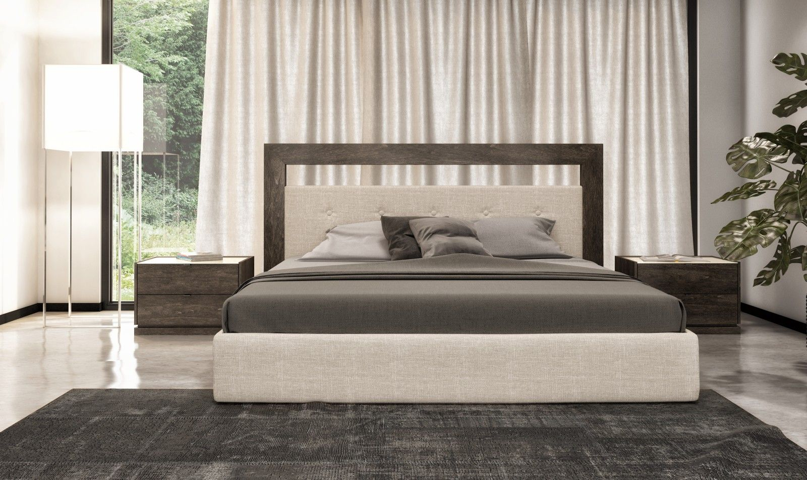 Timeless and sophisticated the Clo bedroom collection
