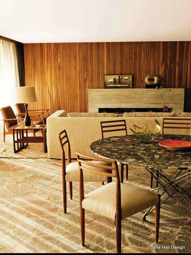Mid Century Modern Style Dining Room From Ad Spain  For The Home Beauteous Dining Room Manager Job Description Design Decoration