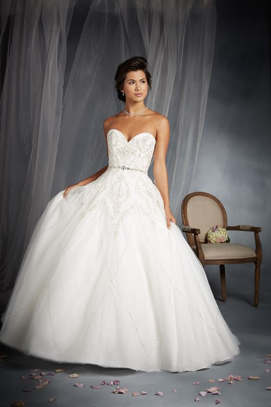 2015 Alfred Angelo Disney Fairy Tale Wedding Gowns | Tiana, Disney s ...