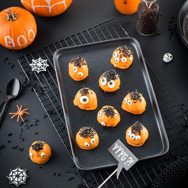 Photo of Halloween-Cake-Pops: monstermäßig gut!