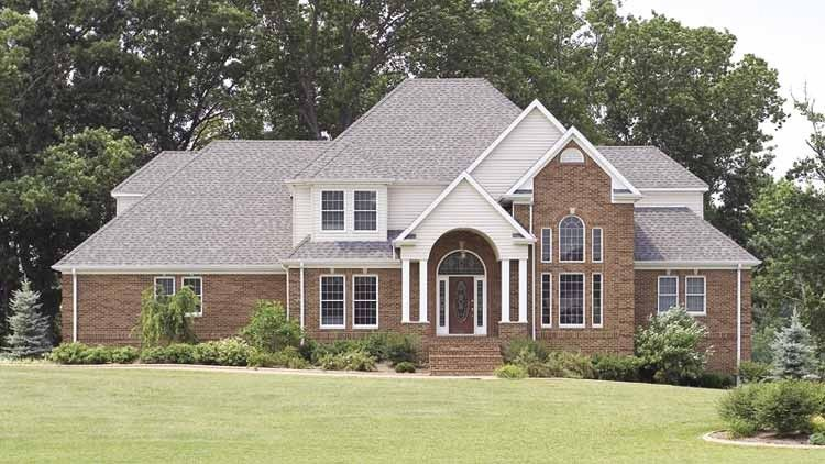 Traditional Style House Plan 4 Beds 3 5 Baths 3117 Sq Ft Plan 472 201 House Plans House Design Floor Plan Design