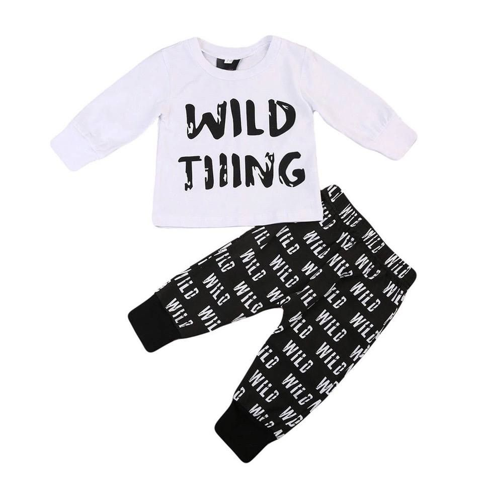 Toddler Infant Baby Girls Plaid Tops T Shirt Pants Leggings Kids Clothes Outfits