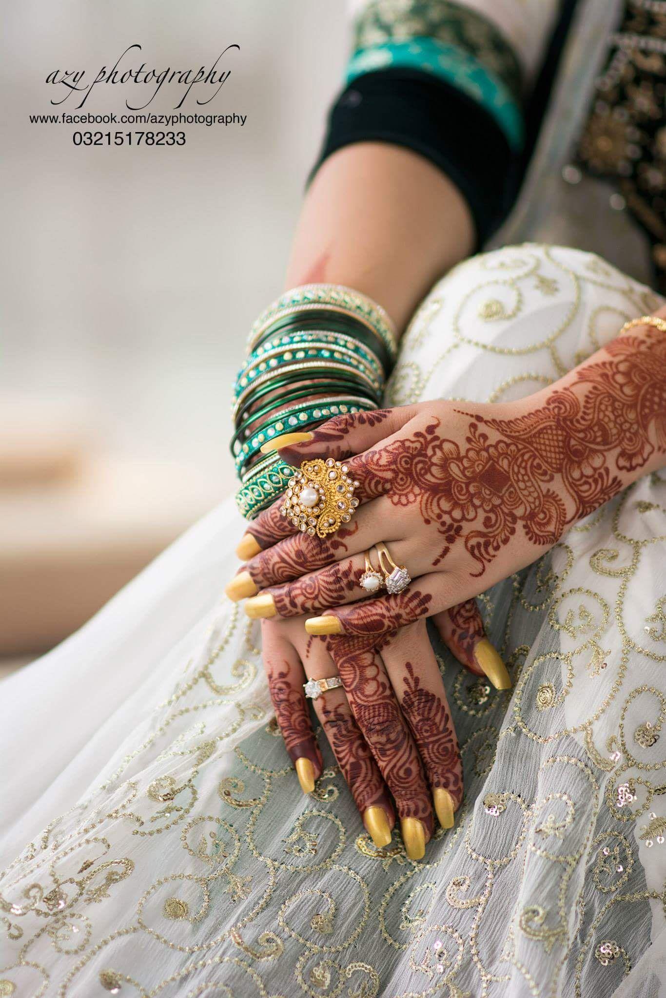 Beautiful hands Azy Khan photography | Beautiful Bridal hands ...