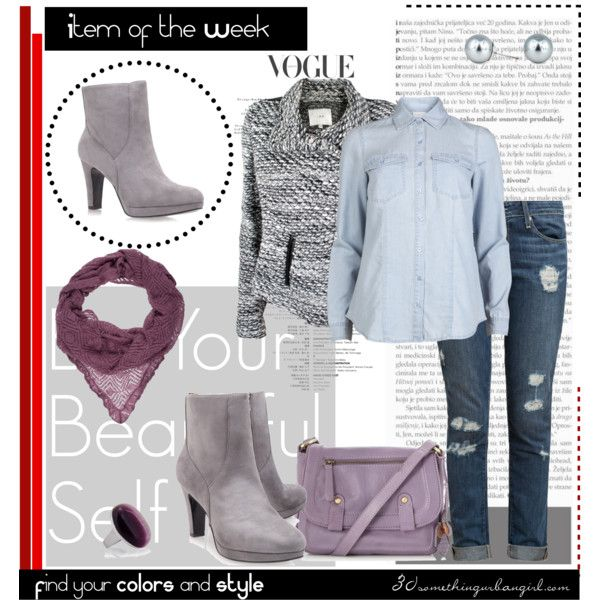 Item Of The Week Light Grey Boots For Soft Summer Pinterest