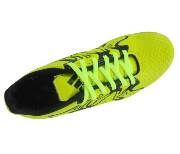 chuteira futsal adidas adizero f50 verde limão