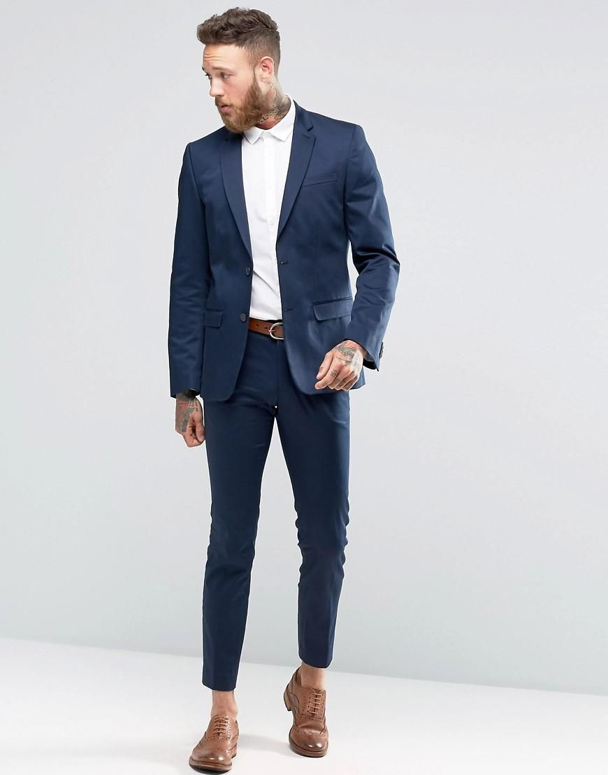 new look sateen suit in navy at asos suits mens suits, tailored  new look sateen suit in navy at asos