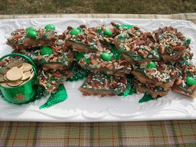 Rosie's Country Baking: St. Patrick's Day Toffee