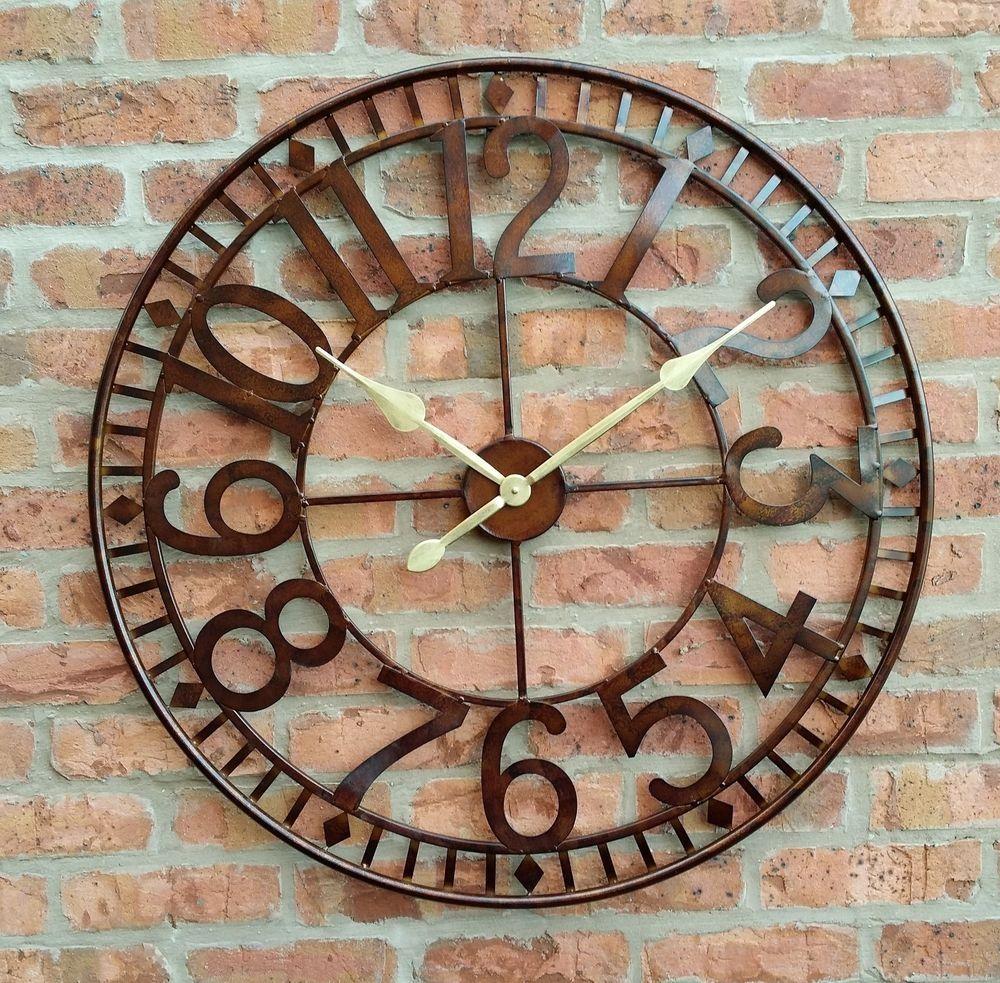 Superbe Large Garden Wall Clocks
