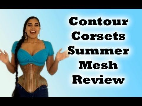 e0ee8fa91a ▷ Contour Corsets Summer Mesh Underbust Review - YouTube ...