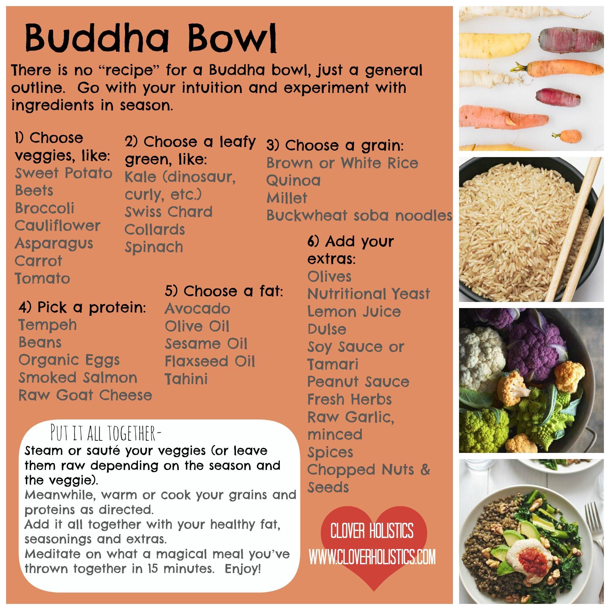 Vegan Bowls Buddha Clean Eating